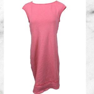 Tommy Bahama pink stripe coverup dress